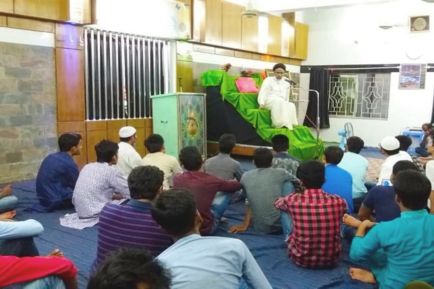 THE HOLY BIRTHDAY OF HAZRAT IMAM HASAN (A.S.) OBSERVED IN KHULNA