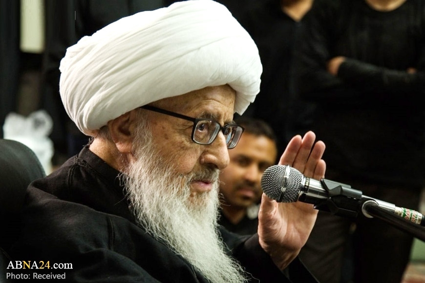 Grand Ayatollah Vahid Khorasani: Any aggression against even one inch of a Sunni nation, duty of all Shia Muslims to defend