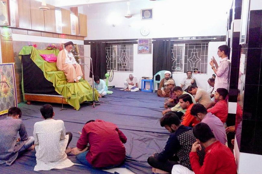 A Mahfil was held in Khulna Anjuman-E-Panjatani Imambargah on the holy Eid-e-Ghadir